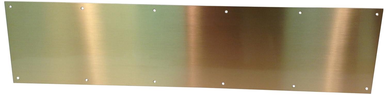 Don-Jo 90 Metal Kick Plate Satin Bronze 28