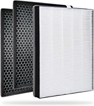 FY2422 Nano Protect Hepa and FY2420 Active Carbon Filters Replacement Compatible with Philips Air Purifiers Series 2000 20...