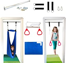DreamGYM Indoor Swing Trapeze & Rings Combo and Therapy Sensory Swing