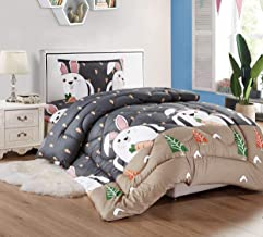Sleep Night Kids Medium Filling Comforter Set, 3 Pcs, Multicolour, Single Size Kidzy-103