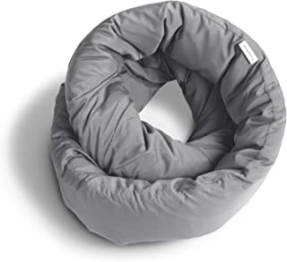 Huzi - Infinity Pillow - Travel Neck Airplane Pillow (Grey)
