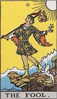 Tarot Notebook- The Fool: Rider Waite Tarot Deck Inspired Notebook Journal: Lined and Unlined Pages (Tarot Notebooks- Majo...