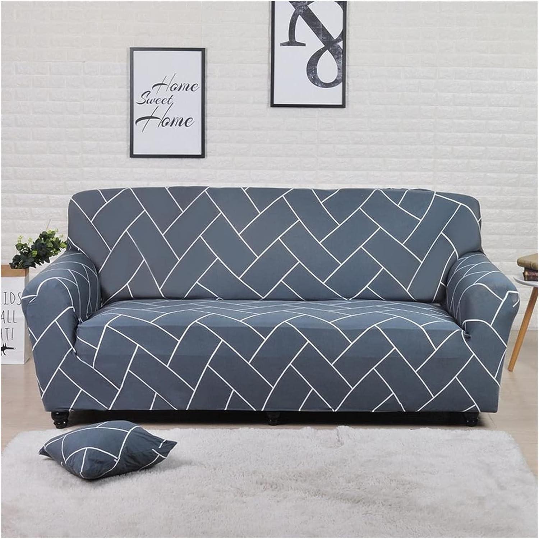 Geometric Max 46% OFF favorite Colorful Printing Sofa Elastic Slipcovers Anti-D Cover