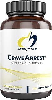 Designs for Health CraveArrest - Anti-Craving Support Supplement with 5-HTP Plus B6, L-Tyrosine, Rhodiola, B12 - Designed ...