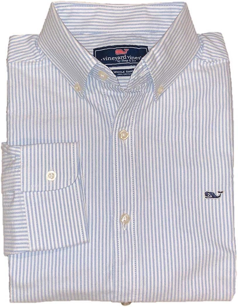 Vineyard Vines Gifts Dedication Men's Long Sleeve Down Button Oxford Shirt Whale