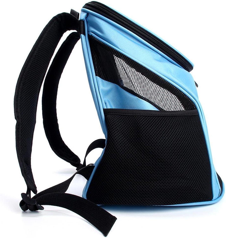Aoligei Double Shoulder Bag Breathable Out Portable Bag cat Dog Universal Dog Chest Front Bag Oxford 30  31  33cm