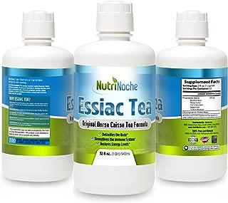 NutriNoche Organic Herbal Essiac Tea - Best Essiac Tea - Ready to Drink Essiac Tea - 32 Ounce Bottle