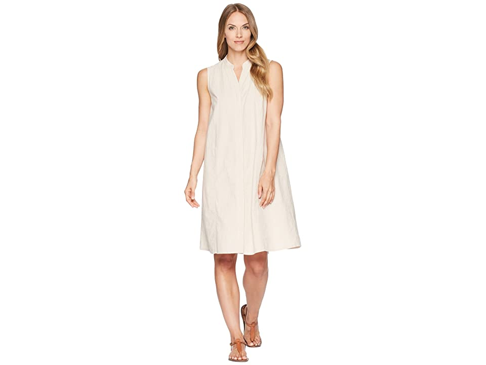 NAU Straight Up Sleeveless Dress (Almond Stripe) Women