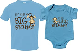 Nursery Decals and More Sibling Shirt Set for Sisters and Brothers, Includes Im The Big Sister with Owl