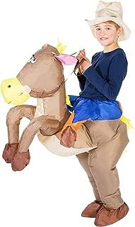 Inflatable Cowboy Fancy Dress Costume