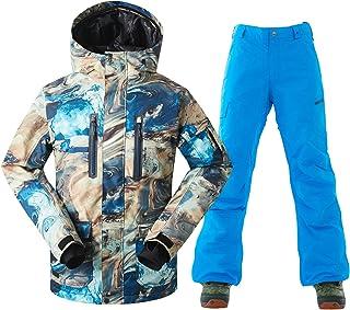 GSOU SNOW Men's Ski Jacket Waterproof Windproof Fashion Snowboard Coat