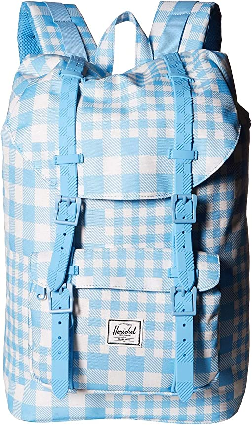 Gingham Alaskan Blue/Rubber