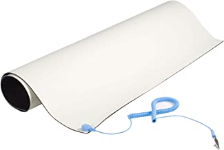 """StarTech.com Anti-Static Mat - 25"""" x 27.5"""" Electrical Grounding Desk Pad - For Home or Work - Beige (M3013)"""
