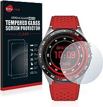 savvies Cristal Templado Compatible con KingWear KW88