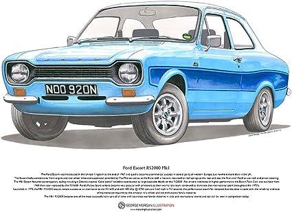 Sale mark 1 escort mexico for 1972 MK1