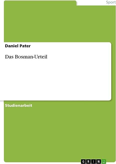Das Bosman-Urteil (German Edition)