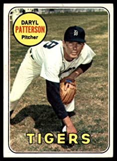 1969 Topps #101 Daryl Patterson Excellent+ Tigers