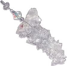 Giant Apophyllite Crystal Stalactite Sterling Handmade Pendant