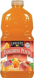 Langers Tangerine Peach Cocktail, 64 fl. oz. (Pack of 8)