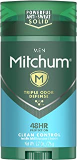 mitchum clinical clean control