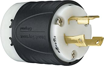 Legrand - Pass & Seymour L630PCCV3 Industrial-Strength NEMA L6-30P Turnlok Locking Plug 30A, 250 Volt | Plugs IP20 Suitability, 3-Wire