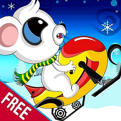 Snow Mobile Bear: The Magical Winter Fun Ride - Free