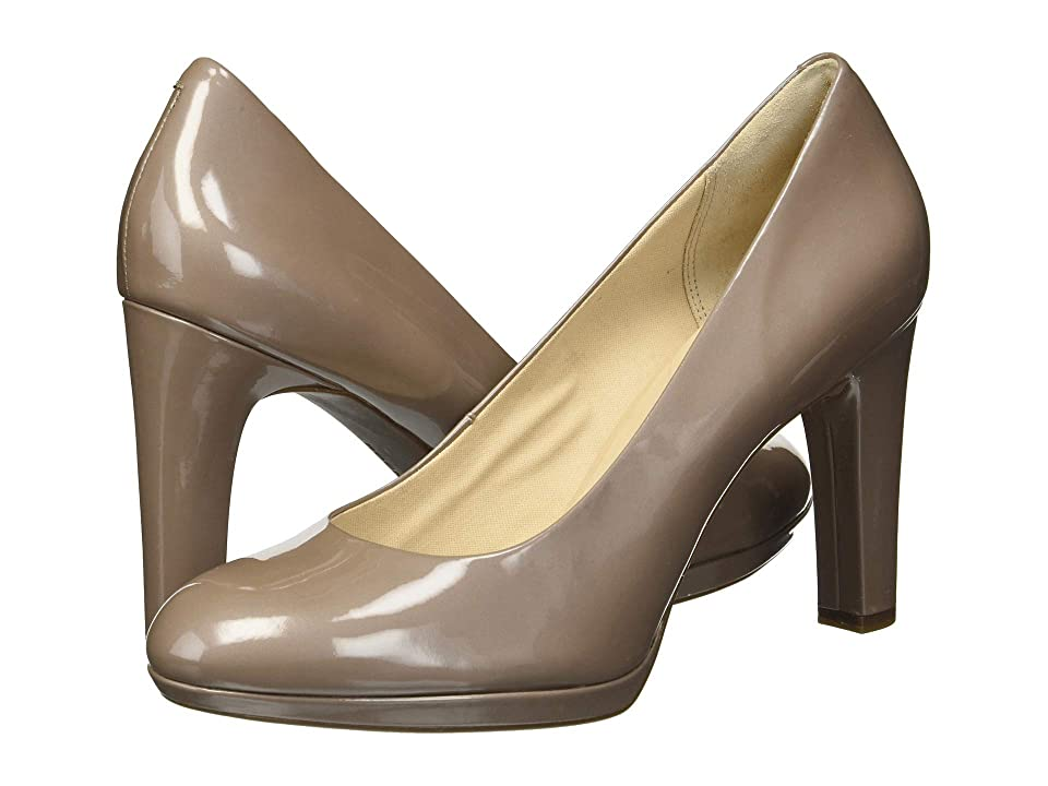 Rockport Seven To 7 Ally Plain Pump (Taupe Grey Pearl) Women