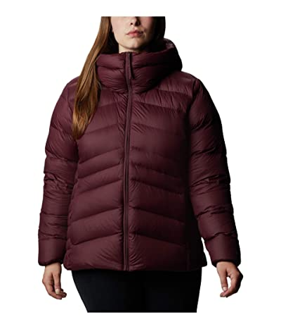 Columbia Plus Size Autumn Park Down Hooded Jacket (Seminole) Women