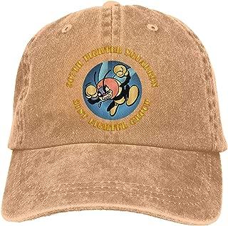 SLISL EIEI AAC 307th Fighter Squadron 31st Fighter Group Adjustable Baseball Caps Denim Hats Cowboy Sport Outdoor
