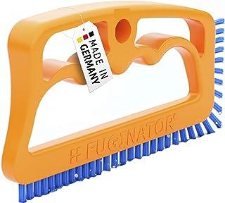 Fuginator Cepillo para Juntas Naranja/Azul – Limpieza de junturas en el baño, la Cocina y el hogar – Elimina el Moho superficialmente