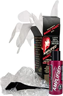 Manic Panic - Amplified Kit - Hot Hot Pink Hair Colour 118 ml + gloves, paintbrush & cap