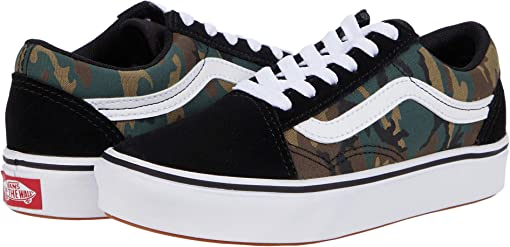 (Woodland Camo) Black/True White