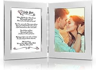 BEST Romantic Christmas Anniversary Birthday Wedding Gift for Her, Him, Wife, Husband, Girlfriend, Boyfriend, Soulmate, Lover. Date Night Gift. Romantic Poem + Your Favorite Photo = Custom Poetry Gift