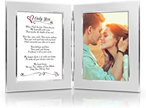 BEST Romantic Christmas Anniversary Birthday Wedding Gift for Her, Him, Wife, Husband, Girlfriend, Boyfriend, Soulmate, Lover. Date Night Gift. Romantic Poem + Your Favorite Photo = Custom Poetry Gift