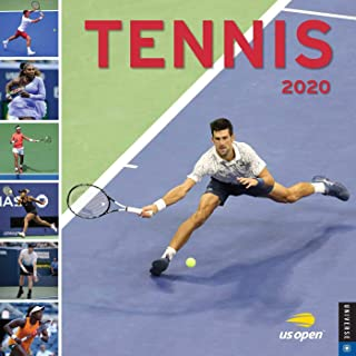 Tennis 2020 Wall Calendar: The Official U.S. Open Calendar