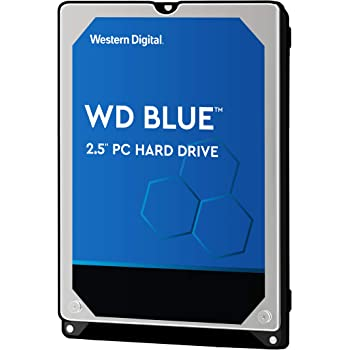 """Western Digital 2TB WD Blue Mobile Hard Drive - 5400 RPM Class, SATA 6 Gb/s, 128 MB Cache, 2.5"""" - WD20SPZX"""