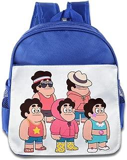 Unisex Steven Universe Family Kids School Backpack For Little Kids