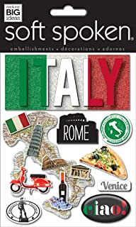 Best italy scrapbook embellishments Reviews