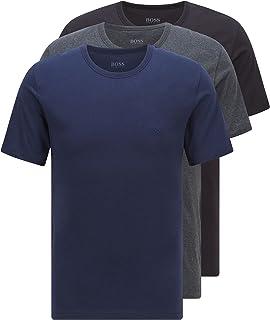 BOSS Herren T-Shirt RN 3P CO T-Shirts aus Baumwolle im Dreier-Pack