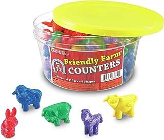 farm animals counters