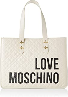 Love Moschino Jc4209pp0a, Bolso tipo tote para Mujer, beige, 16x31x42 Centimeters (W x H x L)