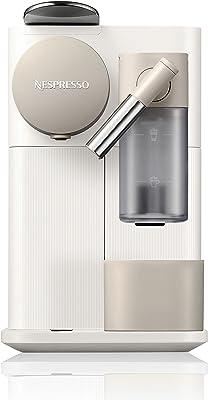 Nespresso Lattissima One Original Espresso Machine with Milk Frother by De'Longhi Silky White