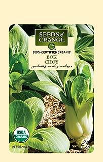 Seeds Of Change 8216 Certified Bok Choy, Organic, Seeds, Green