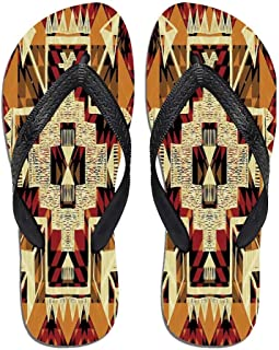 Arrow Beach Flip Flops,Medieval Passage with,for Men&Boys