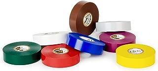 3M 35-Multi-Color-1/2x20FT-8Pk Scotch Vinyl Color Coding Electrical Tape 35, 1/2