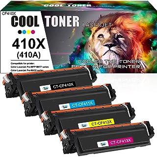 Cool Toner Compatible Toner Cartridge Replacement for HP 410X CF410X CF411X CF412X CF413X..