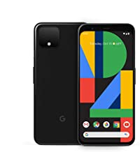 Unlocked Google Pixel 4 - 64GB - Just Black - GA01187-US (Renewed)
