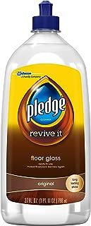 Pledge 11182 Revive It Floor Gloss, 27 Ounce, Clear Transparent Liquid