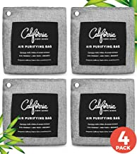 Bamboo Charcoal Air Purifying Bag 4-Pack - 200g Activated...