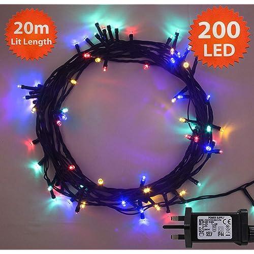 20m Outdoor Christmas Lights Amazon Co Uk